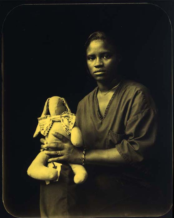 Deborah Luster - LCIW25, 1999 Silver Gelatin print on aluminum