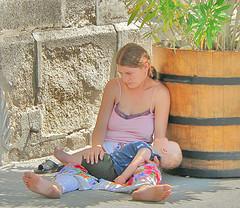 Homeless mother